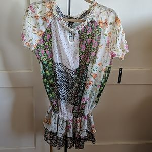 Courtenay boho blouse